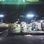 Market @ night