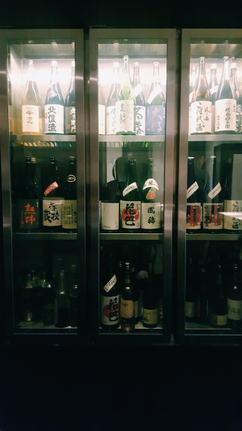 Where else would you get a sake tasting?!