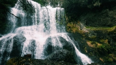 Bridal Veil and Champagne Falls